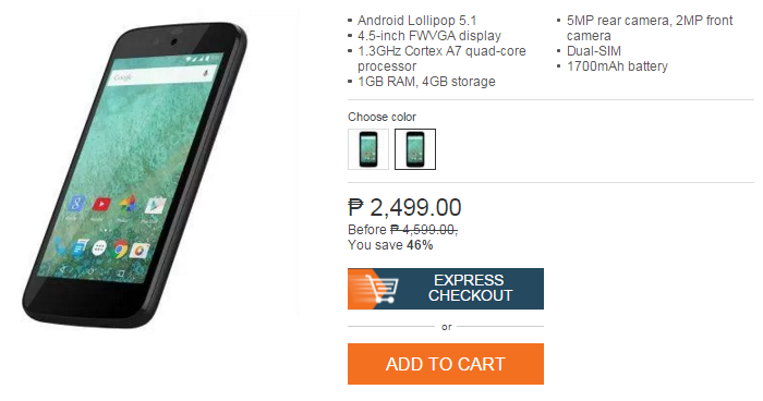 Samsung Galaxy J1 Laser Lazada Onlice Revolution