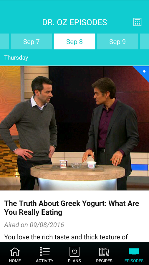 Dr. Oz- screenshot
