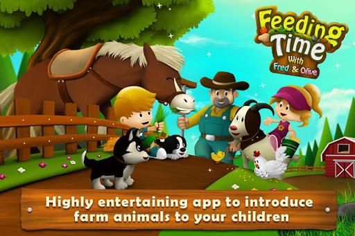 Feeding Time Farm Animals FREE