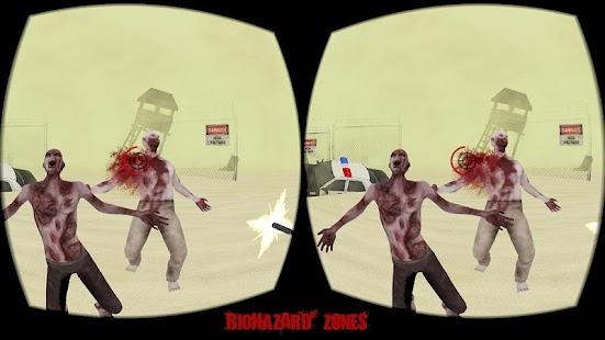 Biohazard Zones VR - náhled