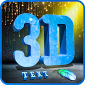 3D Text Photo Editor-3D Logo Maker & 3D Name Android APK Download Free By Red Candy