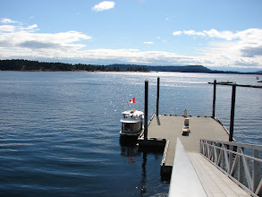 Photo: Passenger ferry to Nanaimo from Newcastle Island.