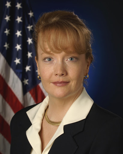 Official portrait of Shana L. Dale deputy administrator of the National Aeronautics and Space Administration.