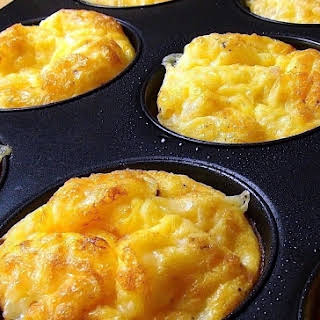 Oven Baked Mini Omelets for Quick and Easy Breakfasts.