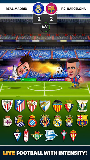 Head Soccer La Liga 2017 screenshot 1