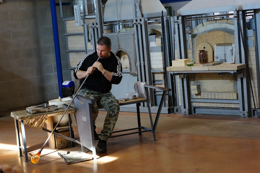 Glassblowing in Murano, Italy (2015)