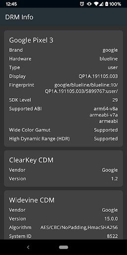 DRM Info 1.1.2.191021 screenshots 1