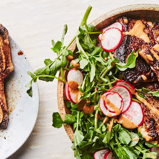Miso- and Mayo-Marinated Short Ribs with Spicy Sauce Recipe   Epicurious.Com Recipe