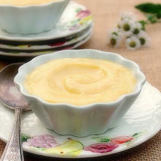 Homemade Vanilla Pudding.