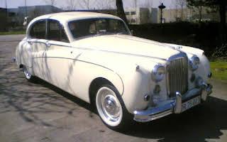 Jaguar MK VIII - 3,8L Rent Fyn