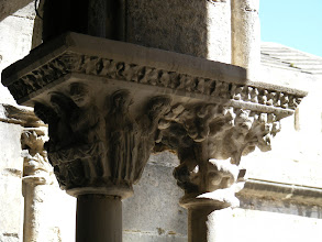 Photo: The sculpted details on the slender pillars are considered especially noteworthy.