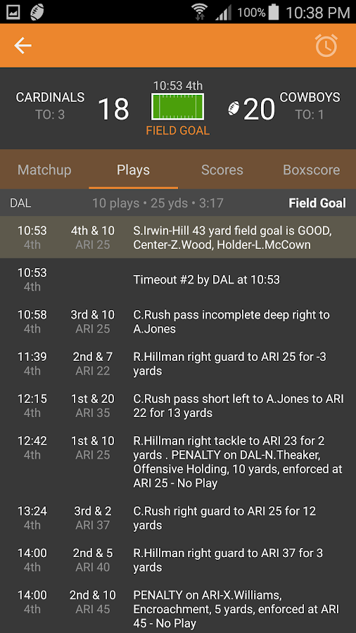 Amazon.com: espn play by play