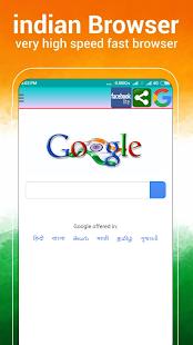Indian Browser 2018 - náhled