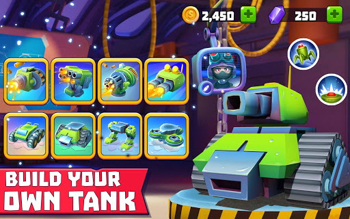 Tanks A Lot! - Realtime Multiplayer Battle Arena modavailable screenshots 10