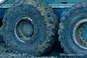 Photo: Big, Muddy Tires