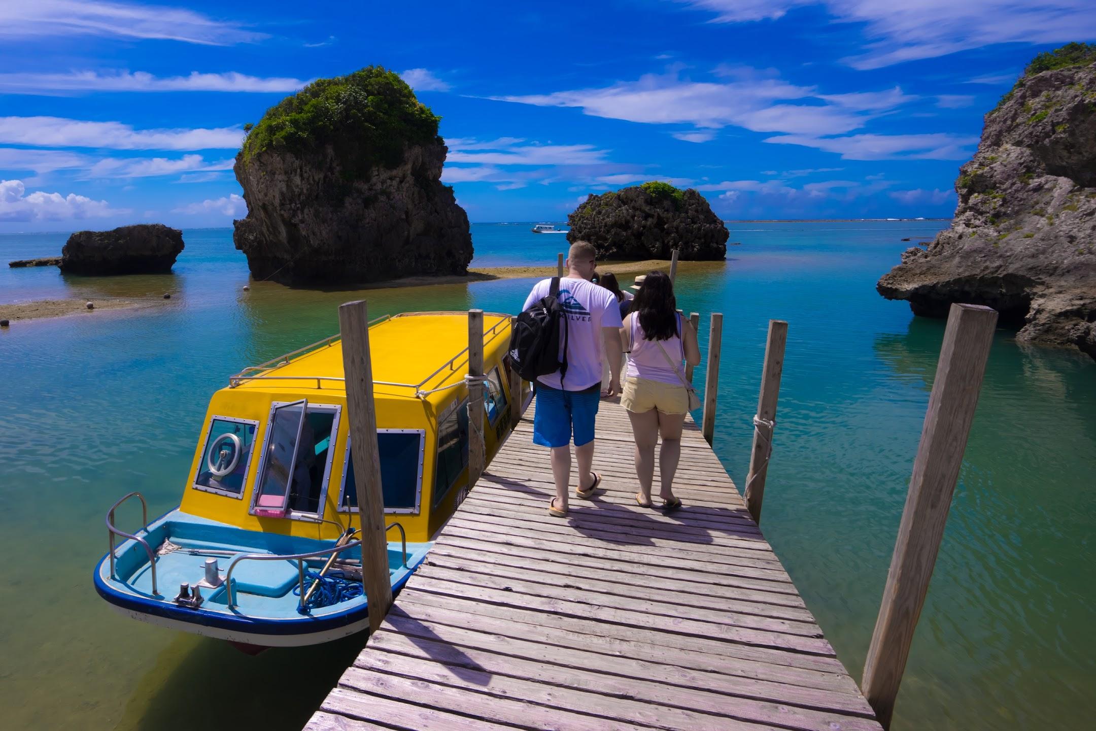 沖縄 新原ビーチ グラスボート3