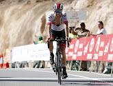Rui Costa verliest zijn derde plaats in de Vuelta