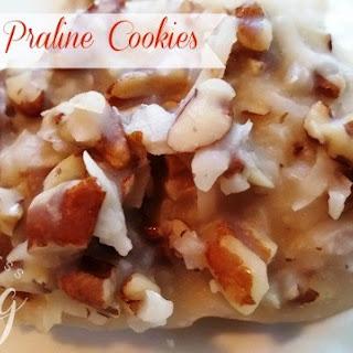 No-Bake Praline Cookies.