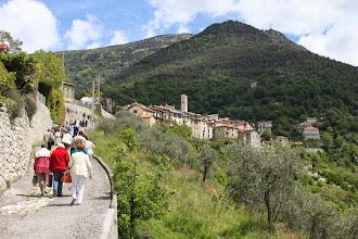 Photo: ... retour au village.