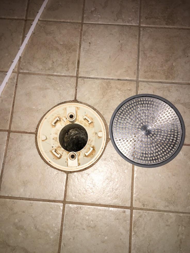 Shower Stall Drain Protector Plumbing Diy Home Improvement Diychatroom