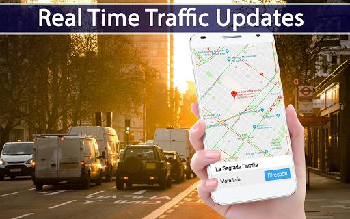 GPS Map Route Traffic Navigation 1.2 Screenshots 2