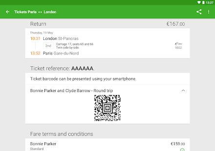 Captain Train: train tickets Screenshot 12