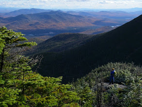 Photo: The view southeast toward Boreas Mountain from the trail up Mount Marcy.