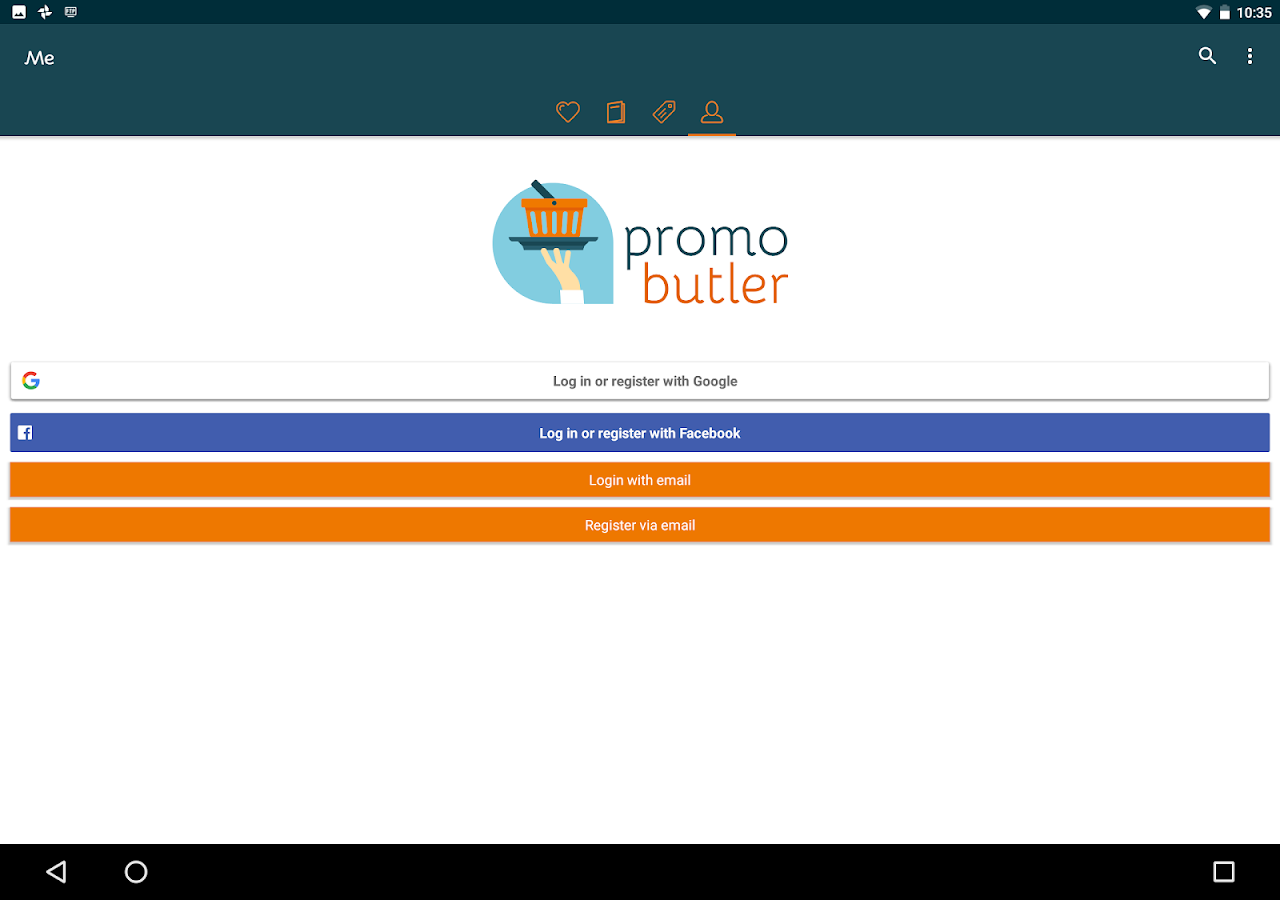 PromoButler: promo + brochures- screenshot