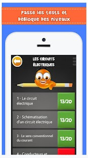 iTooch Physique-Chimie 5ème- screenshot thumbnail