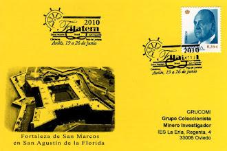 Photo: Matasellos general de la Filatem 2010, Exposición de filatelia temática celebrada en Avilés