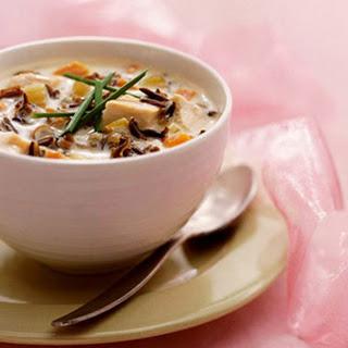 Creamy Velvet Chicken Soup.