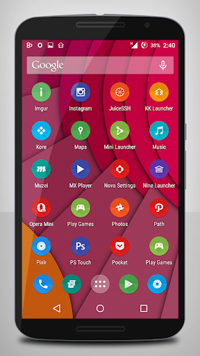 Papery Pi Icon Pack
