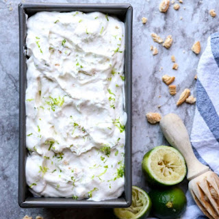 Cookies and Cream Key Lime Ice Cream- No Churn!.
