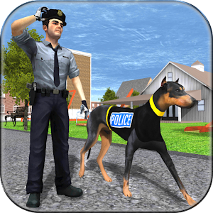 police dog criminal chase for PC and MAC
