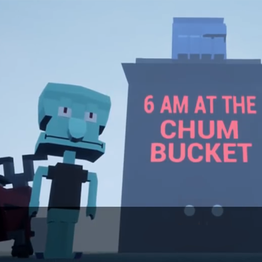 Squidward At 6am In The Chum Bucket Game Apk Free Download For Android Pc Windows