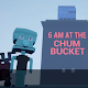 Squidward at 6am in the Chum Bucket. (game)