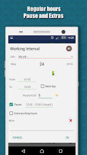 Working Hours 4b- screenshot thumbnail