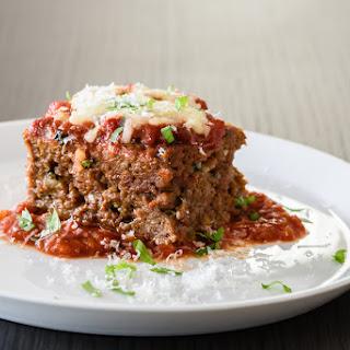Meatloaf Parmesan.