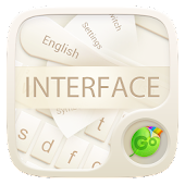 Interface GO Keyboard Theme