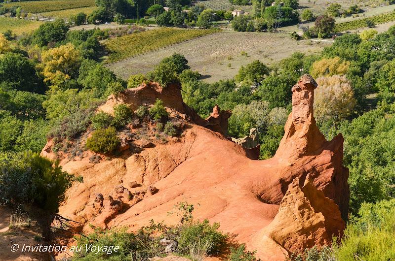 Colorado Provençal - cheminées des fées