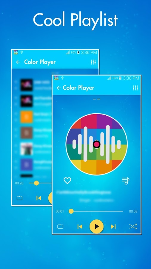 Color Player - Free MP3 Player- screenshot