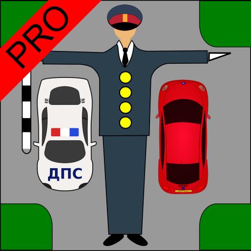 Driver Test: Traffic Guard Pro Icon