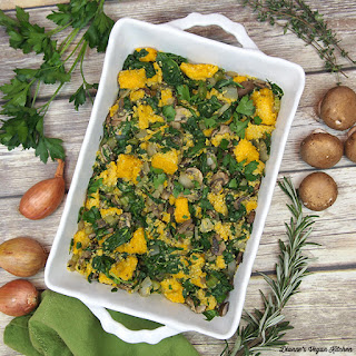 Polenta With Spinach Mushrooms Recipes