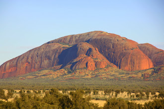 Photo: Year 2 Day 219 - Bathed in Sunlight - The End of the Olgas