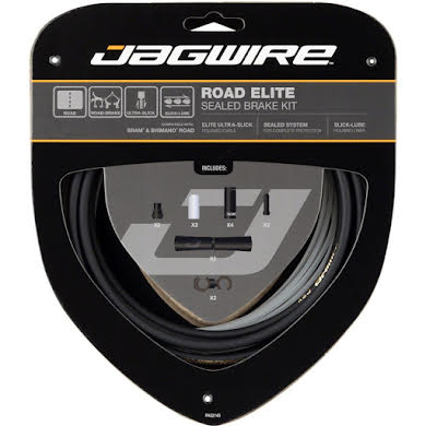 Jagwire Road Elite Sealed Brake Cable Kit SRAM/Shimano w/ Ultra-Slick Cables