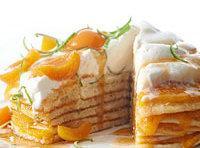 Apricot Stack Cake Recipe