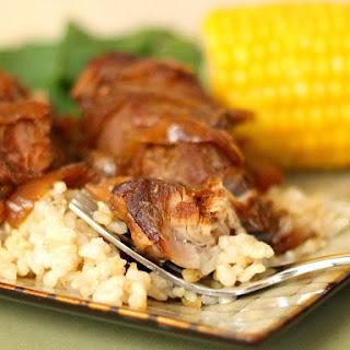5-Ingredient Slow Cooker Brown Sugar Ribs.