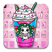 App Cute Star Girl Icejuice Keyboard Theme apk for kindle fire