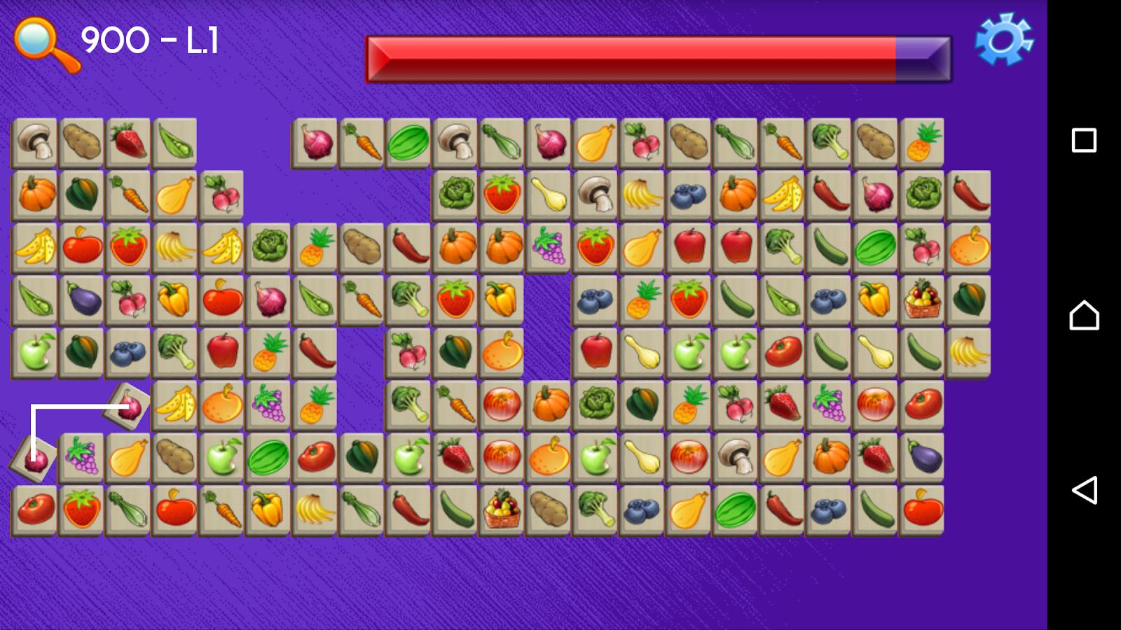Game onet fruit -