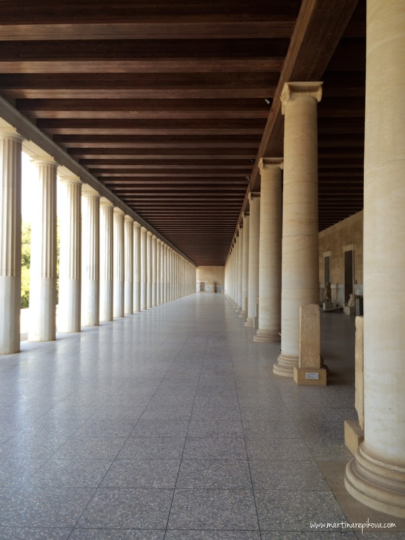 Stoa of Attalos, Agora, Athens, Greece